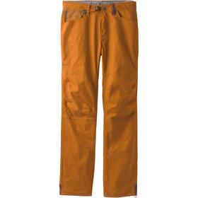 Prana Continuum lange broek Heren oranje